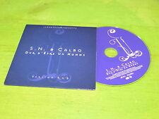 S.N., Calbo DUR D'ETRE UN HOMME!!! RARE CD PROMO !!