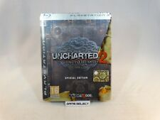 UNCHARTED 2 IL COVO DEI LADRI SPECIAL EDITION SONY PS3 PAL ITA ITALIANO COMPLETO