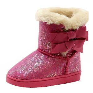 Rampage Toddler Girl's Lil Beatrix Fashion Pink Boots Shoes