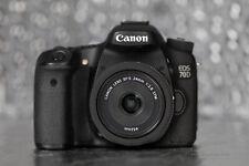 Canon EOS 70D DSLR + EF-S 24mm f2.8 STM | MEGA Kit + Filters + Stabilizer + SD