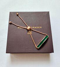 New Monica Vinader Bracelet Baja Green Onyx Bracelet