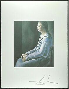 SALVADOR DALI * Portrait of Anna Maria * 50 x 60 cm * signed lithograph*limited