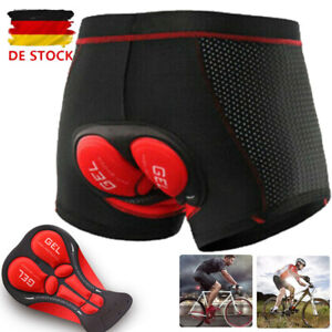 Radunterhose Fahrradhose Herren/Damen Fahrradshort MTB Bike Radlerhose Unterhose