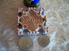 Programmable Energy Generator Activator Hot Plate Reiki Crystal Grid Orgone CC