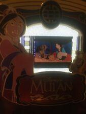 Disney Pin Mulan  cel Piece Of Movie History Movies PODM Rare Le
