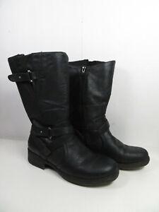 Black BareTraps Boots Harly Black Distress Sz 8