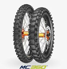 COPPIA GOMME PNEUMATICI METZELER MC360 80/100 21 51M 110/100 18 64M  MID HARD