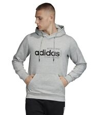 Adidas Men Hoodie Sports Inspired Brilliant Basics Gym Athletics Hoodies EI4621