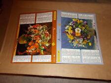 CALENDRIER PTT   2007   jolis bouquets de fleurs