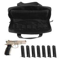 Pistol Case Bag Tactical Handgun Range Duffle Pouch For Hunting Shooting Sports