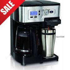 Hamilton Beach Automatic New Original Gift Espresso Coffee Maker 2way Flex Brew