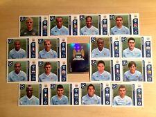 Champions league 2011/12 - Figurine stickers Manchester City squadra completa