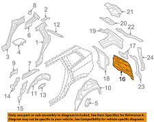 VOLVO OEM 16-18 XC90 Quarter Panel-Rear Body Filler Right 31416419