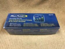 BLUE-POINT 4-PIECE LOCKING PLIER SET MODEL: BSGLP404 NEW IN BOX Ships Free!!