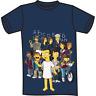 T-shirt Simpson Stranger Things misura M