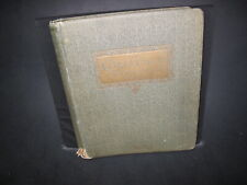 Vintage 1920's Challenge Postage Stamp Album With Some Stamps