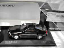 Honda Prelude IV - BB in schwarz nero noir negro black, Minichamps in 1:43 boxed