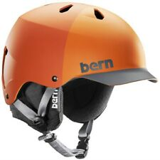 Bern Watts EPS Orange Helmet 12806 Size S/M