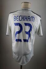 Real Madrid Trikot 2006-07 Gr. M #23 Beckham Adidas Home jersey Shirt BENQ
