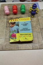 Vintage Cootie Game 1972 Schaper #200 B Model Box Complete with all parts FUN!