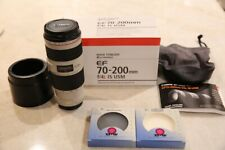 Canon EF 70-200mm f/4L IS USM Telephoto Zoom Lens - Excellent condition