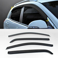 Smoke Window Sun Visor Vent 4p For 2011-2015 Ssangyong Korando C