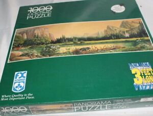 """FX SCHMID 1000-piece Nature Panorama Shaped Puzzle Fantasy 29 1/2"""" X 39 1/2"""""""
