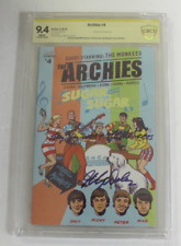 CBCS Graded 9.4 , Archie, ARCHIES No. 4, 2018 Signed Micky Dolenz,THE MONKEES NM