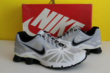 Nike Shox Turbo 14 - White gray Black- 631760 100 - Mens Size:14