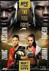 11x17 13x19 Cejudo vs Cruz NEW Ferguson vs Gaethje UFC 249 Poster