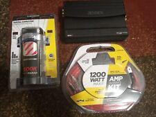 New listing 500k farat cap/ 1200w amp kit/ Jensen Octane class D 1200W Wireless Link