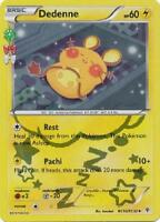 Dedeene RC10/RC32 XY GENERATIONS 20th ANNIV. HOLO PERFECT MINT! Pokemon