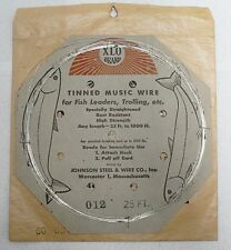 Tinned Music Wire For Fish Leaders 25 Feet In Original Envelope