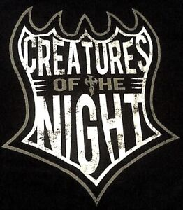 TNA Jeff Hardy Brother Nero Creatures Of The Night XL T-Shirt, OMEGA, Impact UWF