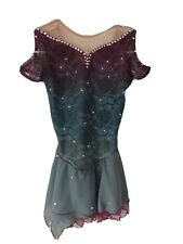 New listing figure skating competition dress girls 10/12
