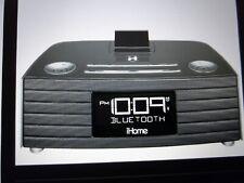 IHome Model IBN 97 Clock Radio, Bluetooth NFC Speakerphone