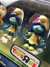 Smurfs The Lost Village Smurfs Collectors Pack Mini Figures NEW