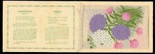More details for kensitas wix tobacco postcard silk flower candytuft - thrift cover type a