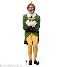 ELF WILL FERRELL BUDDY CHRISTMAS LIFESIZE STANDUP STANDEE CUTOUT POSTER FIGURE