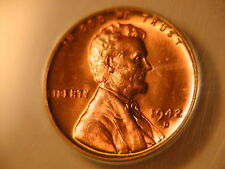 1942-D MS-66 Red ANACS very nice coin! lincoln wheat cent