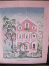 The Victorian Pink House S/N Limited Edition by Sheilia