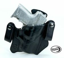 "H&K P2000SK 3.26"" Barrel IWB Dual Snap Holster Right Hand Black"