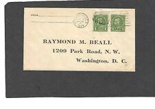 #669 1c NEBRASKA OVERPRINT FDC WASHINGTON,DC  MAY 1-1929