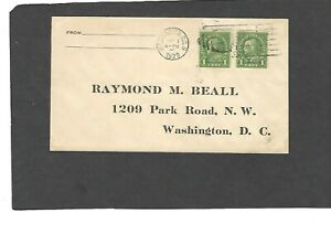 #669 1c NEBRASKA OVERPRINT FDC WASHINGTON,DC  MAY 1-1929