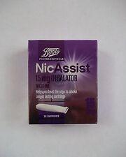 NICASSIST 15mg Inhalator - 20 Cartridges - (same manufacturer as nicorette)