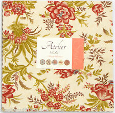 """Moda FABRIC Layer Cake ~ ATELIER ~ by 3 Sister's 42 - 10"""" squares"""