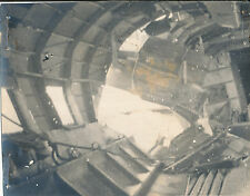 WWII 1945 5th USAAF 3rd Air Comm photo #19 IN wrecked LIBERTY EXPRESS airplane