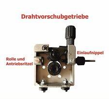Drahtvorschubgetriebe Verzahnter 2-Rollen Antrieb 30x12mm DV Rrolle