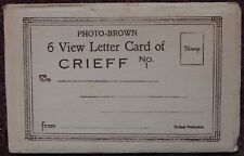 Crieff Vintage 6 View Valentines Letter Card Unused Postcard Perth Scotland