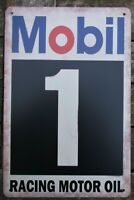 Mobil 1 car  METAL TIN SIGNS vintage cafe pub bar garage decor poster
